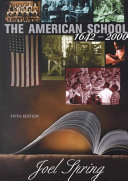 The American School  1642 2000 Book PDF