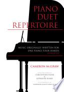 Piano Duet Repertoire  Second Edition