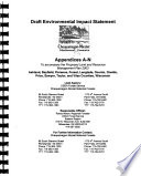 Chequamegon Nicolet National Forests  N F    Proposed Land and Resource Management Plan 2003