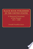 Black Book Publishers in the United States Book