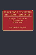 Black Book Publishers in the United States