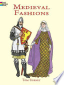 Medieval Fashions Coloring Book Book
