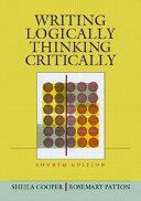 Writing Logically  Thinking Critically