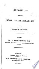 Exposition of the Book of Revelation  in a Series of Lectures