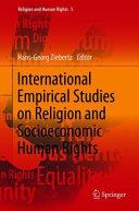 International Empirical Studies on Religion and Socioeconomic Human Rights