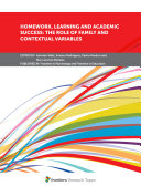 Homework  Learning and Academic Success  The Role of Family and Contextual Variables