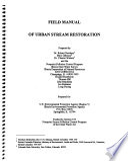 Field Manual Of Urban Stream Restoration