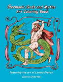 Germanic Gods and Myths Art Coloring Book