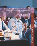 Researching Developing Countries Are Influenced Economic Development  By Education Book
