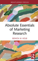 Absolute Essentials of Marketing Research