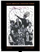 Black American Literature Forum
