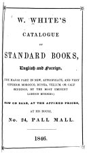 Catalogue of Standard Books Now on Sale,at the Affixed Prices