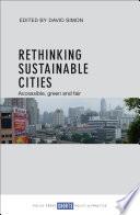 Rethinking Sustainable Cities