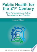 Ebook Public Health For The 21st Century