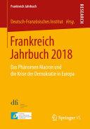 Pdf Frankreich Jahrbuch 2018 Telecharger