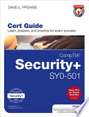 CompTIA Security  SY0 501 Cert Guide Book