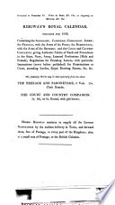 Prospectus Of The British And Foreign Review Or European Quarterly Journal With A Catalogue Of Splendidly Illustrated Works On Botany Gardening Agriculture Geology C C C