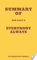 Summary of Bob Goff s Everybody Always