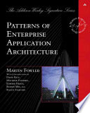 Patterns of Enterprise Application Architecture book cover image