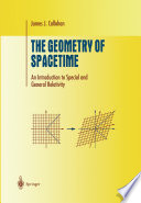 The Geometry of Spacetime Book