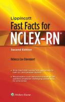 Lippincott Fast Facts for NCLEX RN Book