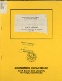 Economics Staff Paper Series Book