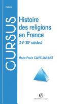 Pdf Histoire des religions en France Telecharger