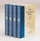 The Interlinear Bible Hebrew Greek English 4 Volume Edition with Strong s Concordance Numbers Above Each Word