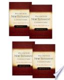 Matthew 1 28 Macarthur New Testament Commentary Four Volume Set