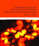 Orientation To The Counseling Profession Book PDF