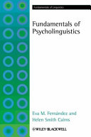 Cover of Fundamentals of Psycholinguistics