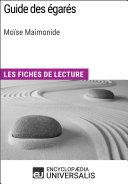 Guide des égarés de Moïse Maimonide