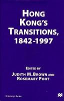 Hong Kong s Transitions  1842 1997