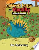 Children s Lesson on Morality