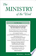 The Ministry Of The Word Vol 24 No 08