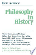 Philosophy in History