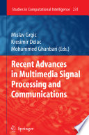 Recent Advances In Multimedia Signal Processing And Communications Book PDF