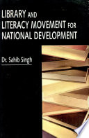 Library And Literacy Movement For National Development