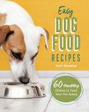 Easy Dog Food Recipes