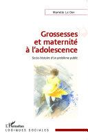 Pdf Grossesses et maternité à l'adolescence Telecharger