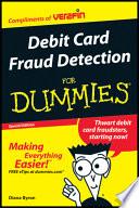 Debit Card Fraud Detection For Dummies Custom