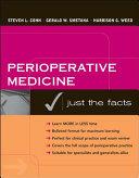 Perioperative Medicine  Just The Facts Book