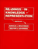 Readings in Knowledge Representation
