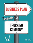 Business Plan Template For Trucking Company