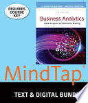 Business Analytics + Mindtap Business Statistics, 2-term Access