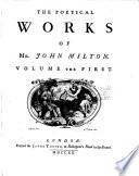The Poetical Works Of Mr John Milton