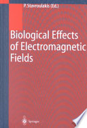 Biological Effects Of Electromagnetic Fields Book PDF