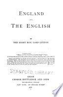 Lord Lytton s Miscellaneous Works