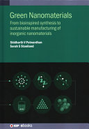 Emerging Green Nanomaterials