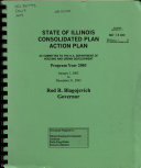 State Consolidated Plan, Action Plan